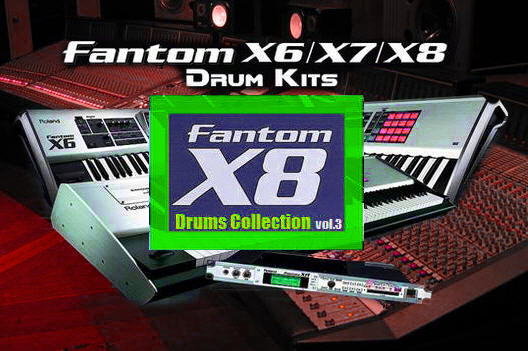 Pay for Fantom X8 Drums Collection vol.3