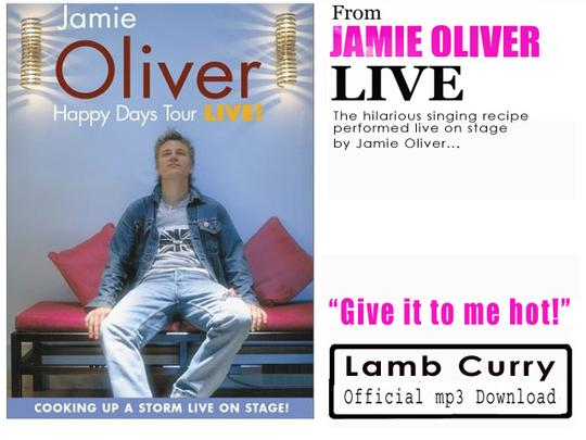 Pay for Jamie Oliver - Lamb Curry Song