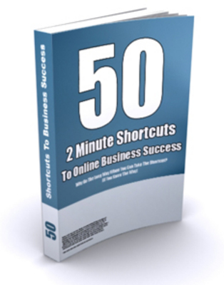 Pay for 50  2 Minute Shortcuts To Online Business Success- PLR