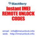 Thumbnail Unlock code for Argentina Claro/CTI Blackberry 9000