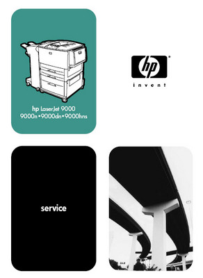 Pay for HP LaserJet 9000 Series Service Manual