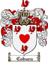 Pay for Coburn Family Crest  Coburn Coat of Arms