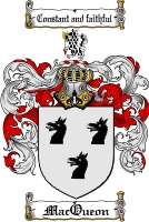Pay for Macueon Family Crest  Macueon Coat of Arms
