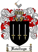 Pay for Rawlings Family Crest  Rawlings Coat of Arms