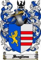 Pay for Scaglione Family Crest  Scaglione Coat of Arms Digital Download