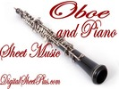 Thumbnail Oboe and Piano sheet music collection