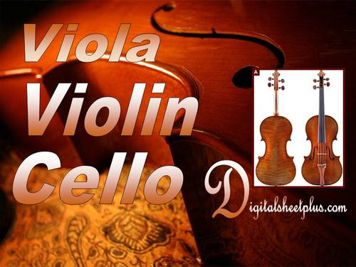 Pay for Viola  Violin and Cello Collection partituras