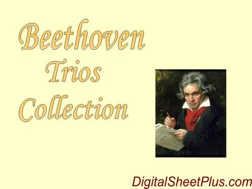 Pay for Beethoven Complete Piano, String, Violin Trios spartiti in pdf formato