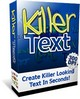 Thumbnail Killer Text - Create killer looking text in seconds!