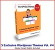 Thumbnail 5 Exclusive Wordpress Themes Vol 4 MRR