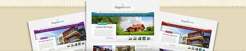 Thumbnail ElegantEstate Real Estate WordPress Theme