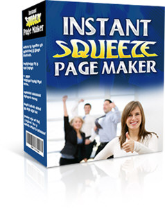 Pay for *NEW!*	 Instant Squeeze Page Maker | Generate Your Optin Pages Quickly  - MASTER RESALE RIGHTS