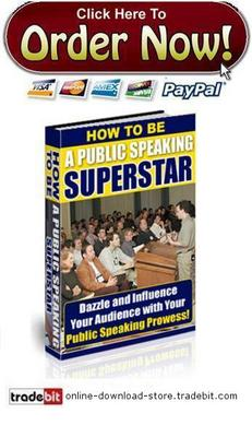Pay for How To Be A Public Speaking Superstar