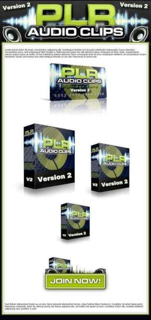 Pay for Plr Audio Clips