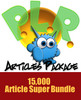 Thumbnail 15000 PLR articles for hundreds of niches
