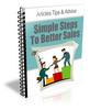 Thumbnail Better Sales PLR Autoresponder Messages