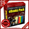 Thumbnail (EXCLUSIVE) 255 Unrestricted PLR eBooks plus 7 SPECIAL BONUS