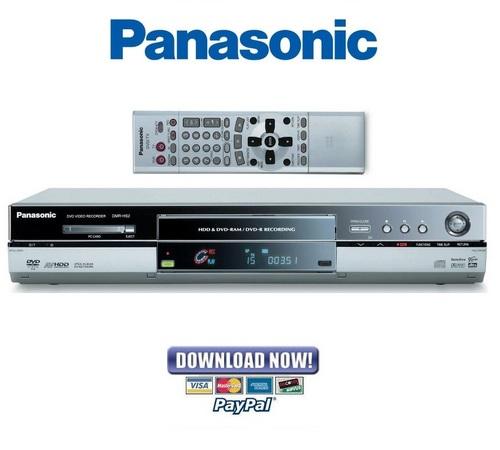 Pay for Panasonic DMR-HS2 Service Manual & Repair Guide