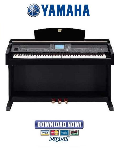 Pay for Yamaha Clavinova CVP-503 + 503PE Piano Service Manual & Repair Guide