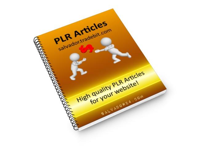 Pay for 25 interior Design PLR articles, #9
