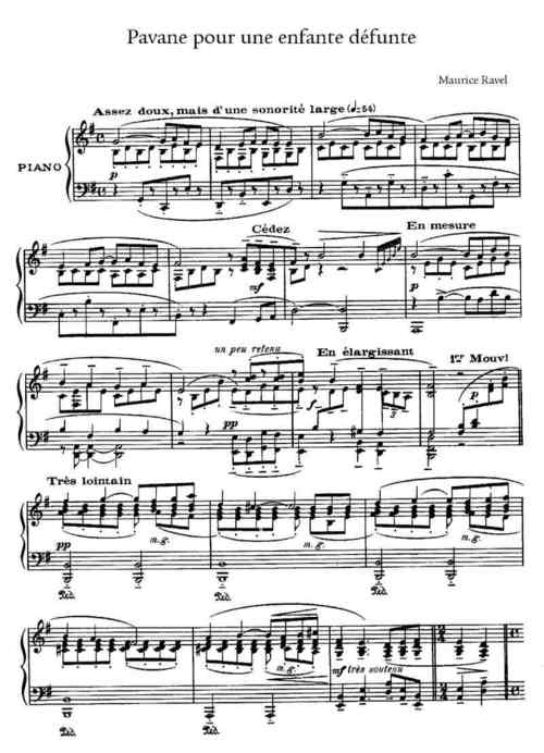 Pay for Ravel Complete Piano Sheet Music