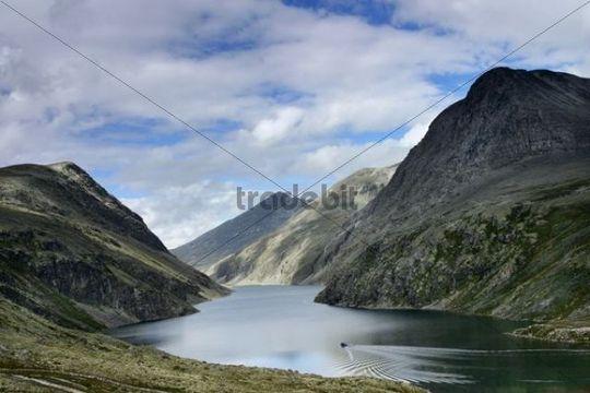 Lake Rondvatnet, Rondane National Park, Norway, Scandinavia, Northern Europe