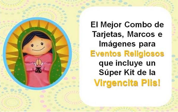 Pay for Moldes para Cajas, Tarjetas, Envolturas, Kit Virgencita Plis