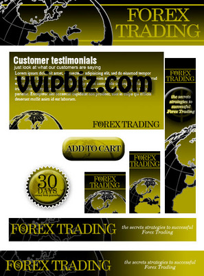 Pay for Forex Trading Website Template Plr Pack