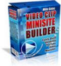 Thumbnail Video Clip Mini Site Builder Mrr