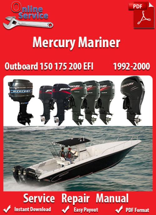 Mariner 175 factory Service Manual
